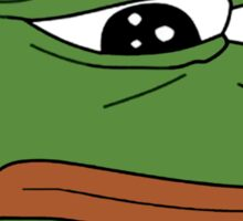 Pepe the Sad Frog Sticker