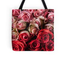 Red and pink roses tote Tote Bag