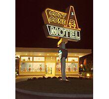 Cozy Cone Motel Photographic Print