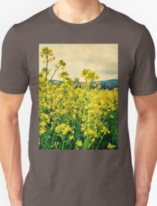 Goldenrod Field Unisex T-Shirt
