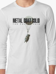 METAL GOAT SOLID - THE FULTON PAIN Long Sleeve T-Shirt