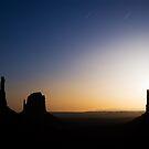 Monument Valley Moonrise by Nolan Nitschke