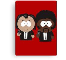 South Park Pulp Fiction Canvas Print