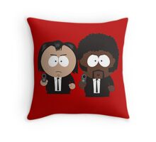South Park Pulp Fiction Throw Pillow