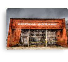 Central Garage Canvas Print