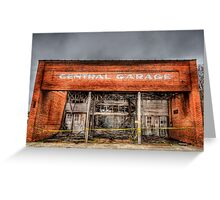 Central Garage Greeting Card