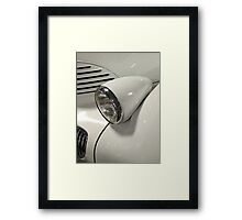 Graham Hollywood ~ Classic Car Headlight profile Framed Print