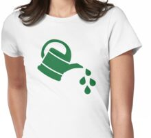 Watering can Womens Fitted T-Shirt