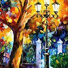 Romantic Aura — Buy Now Link - www.etsy.com/listing/127707450 by Leonid  Afremov
