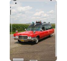 1970 Cadillac Miller Meteor Ambulance iPad Case/Skin