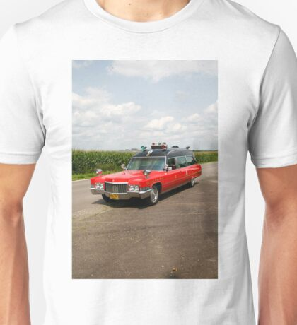 1970 Cadillac Miller Meteor Ambulance Unisex T-Shirt