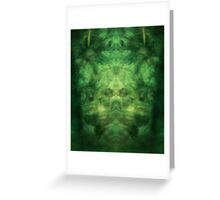 Emerald Wings Greeting Card