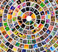 Namco Arcade History Sticker