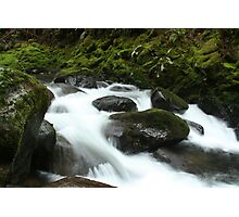 Frothy Falls Photographic Print