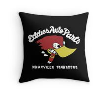 Eddies Auto Parts Knoxville Tennessee Throw Pillow