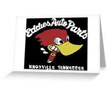 Eddies Auto Parts Knoxville Tennessee Greeting Card