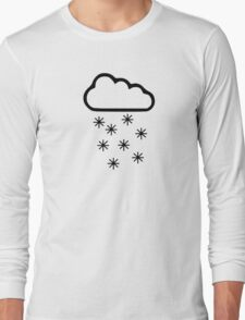 Clouds snow Long Sleeve T-Shirt