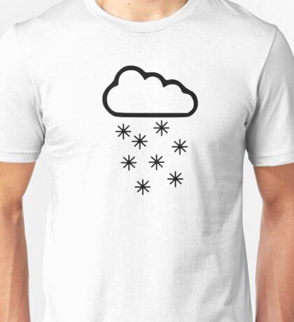 Clouds snow Unisex T-Shirt