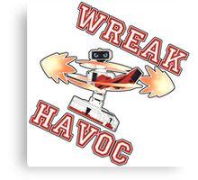 R.O.B - Wreak Havoc! Canvas Print