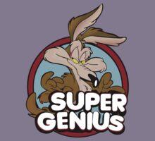 Wile E Coyote Super Genius Kids Clothes