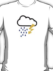 Thunderstorm clouds T-Shirt