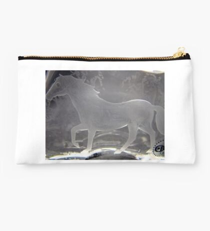 Engraved horse Studio Pouch