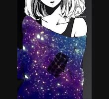 Anime Galaxy girl Unisex T-Shirt