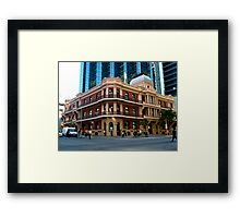 St Georges Terrace - Perth Framed Print