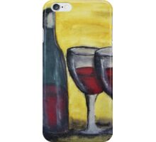 Wine for Two iPhone Case/Skin