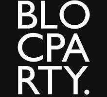 Bloc Party Big Letters Unisex T-Shirt