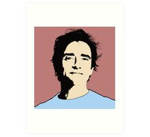 Top Gear - Richard Hammond POP Art Art Print
