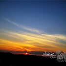 ferris wheel sunset by LoreLeft27