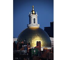 Massachusetts State House Gold Dome Photographic Print