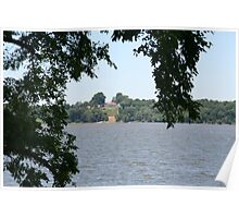 Mount Vernon across the Potomac - June Poster