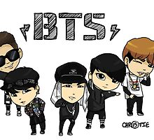 BTS - Bangtan Boys by chaixing