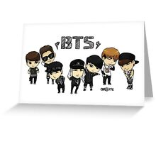 BTS - Bangtan Boys Greeting Card
