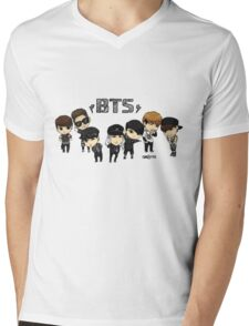 BTS - Bangtan Boys Mens V-Neck T-Shirt