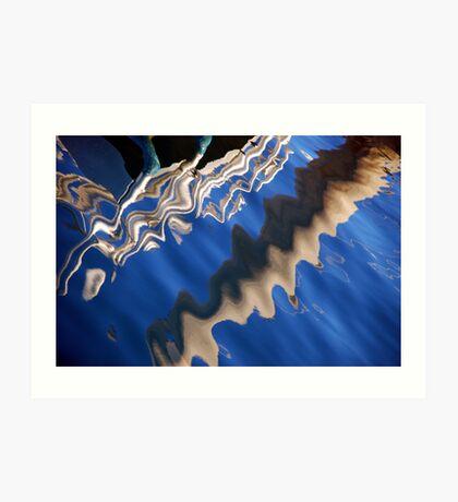 Refletions - Marina Art Print