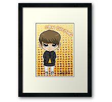 JJCC member SAN CHEONG Framed Print