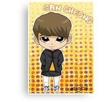 JJCC member SAN CHEONG Canvas Print