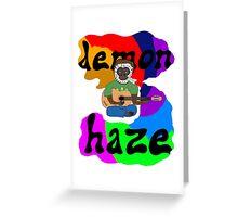 Demon Haze Greeting Card