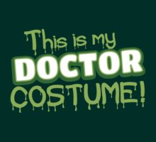This is my Doctor Costume (Halloween) by jazzydevil