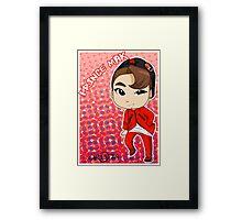 JJCC member PRINCE MAK Framed Print