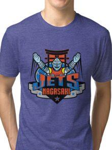 NAGASAKI: JETS Tri-blend T-Shirt