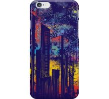 starry city lights iPhone Case/Skin