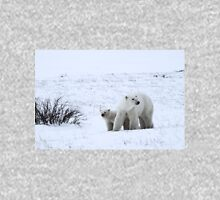 Polar Bear Mother & Cub in the Tundra Unisex T-Shirt