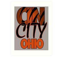 Cin City Ohio Art Print
