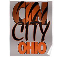 Cin City Ohio Poster