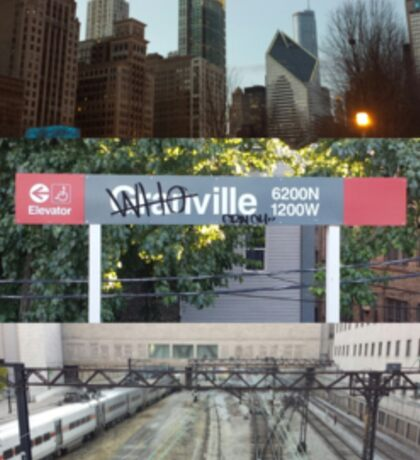 Whoville, Chicago Sticker