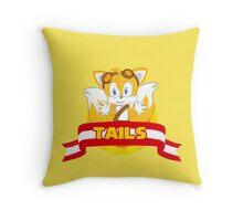 Sonic Boom - Chibi Tails Throw Pillow